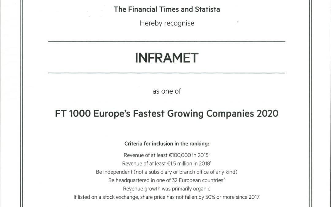 Classement 2020 du Financial Times